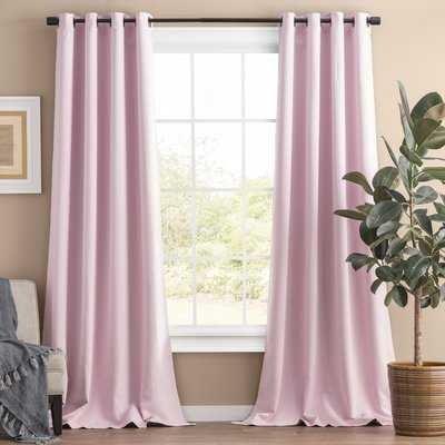 Solid Blackout Thermal Grommet 2 Curtains / Drapes - AllModern