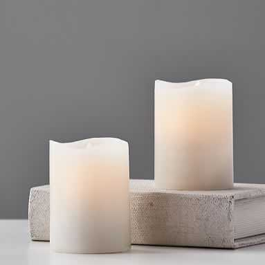 Ivory Flameless Candle - Pottery Barn Teen