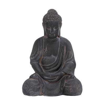 Clay Buddha Figurine - AllModern