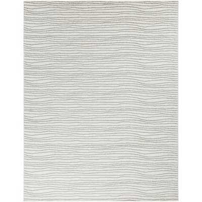 Dartmouth Gray/White Area Rug - Wayfair