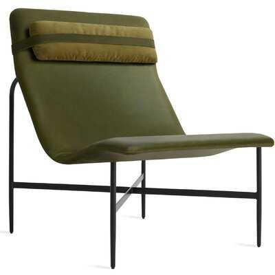 Deep Thoughts Leather Lounge Chair - Wayfair