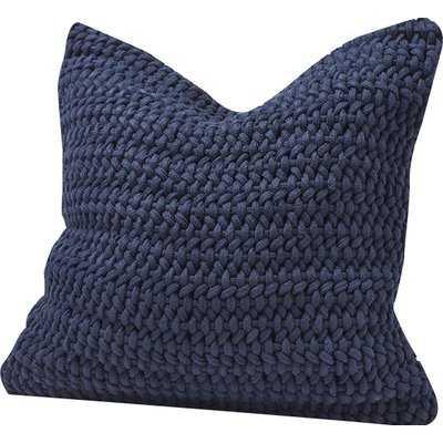 Woven Rope Cotton Throw Pillow Cover - AllModern