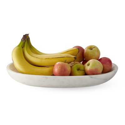 Marble Oval Fruit Bowl - Williams Sonoma