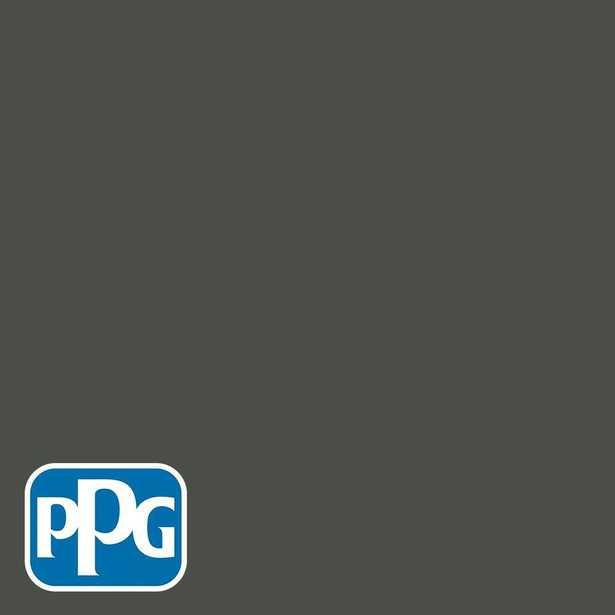 PPG 1-gal. #HDPCN13D Ultra-Hide Zero Enchanted Forest Green Semi-Gloss Interior Paint - Home Depot