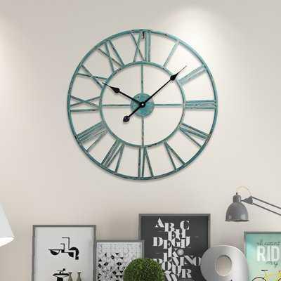 Roman Wall Clock - Birch Lane