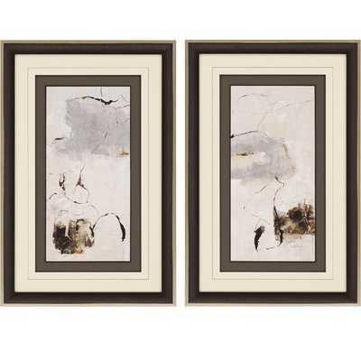 'Painter Link' 2 Piece Framed Print Set - Wayfair