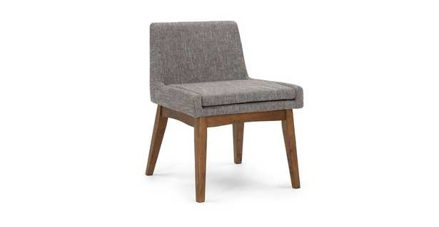 Chanel Volcanic Gray Dining Chair (set 2) - Article
