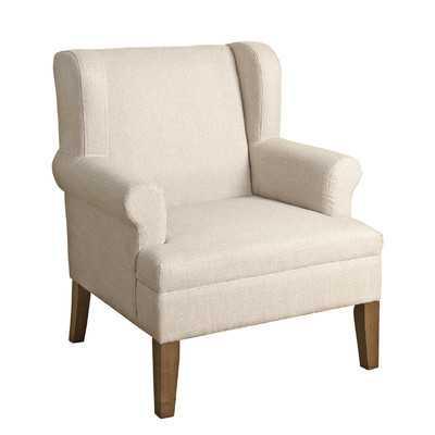 Meade Emerson Wingback Chair - Wayfair