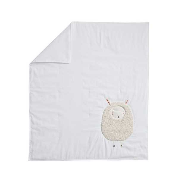Sheep Baby Quilt - Crate and Barrel