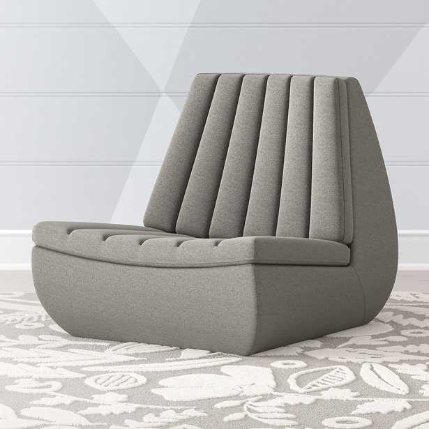 Contour Swivel Lounge Chair - Crate and Barrel