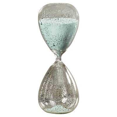 Leonora Sand Mercury Hourglass - Birch Lane