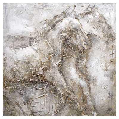 'Wall D?cor Horse' Painting Print on Canvas - Wayfair