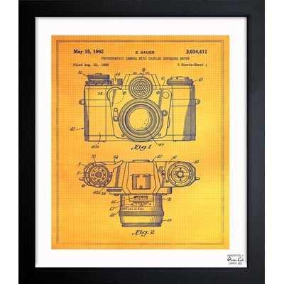 Sauer Photographic Camera 1962 Framed Painting Print - Wayfair