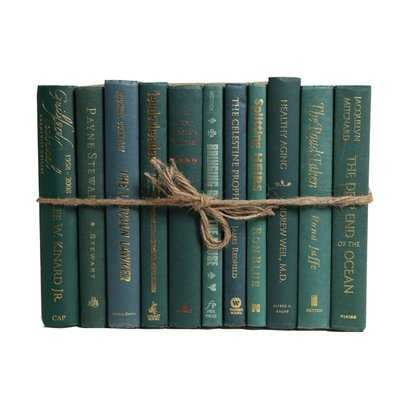 Authentic Decorative Books - By Color Modern Forest ColorPak (1 Linear Foot, 10-12 Books) - Wayfair