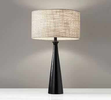 Barclay Table Lamp, Black - Pottery Barn