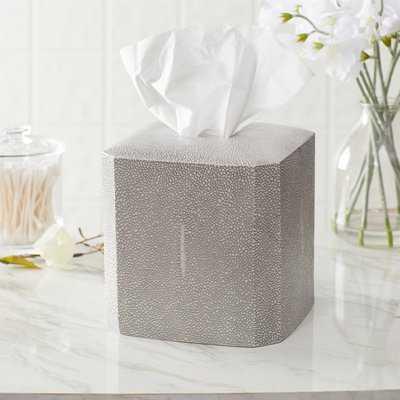 Ariella Porcelain Tissue Box Cover - Birch Lane