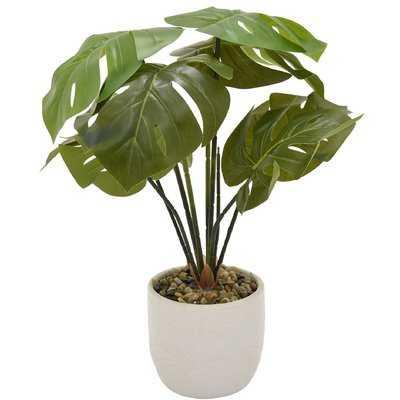 Faux Foliage Plant in Pot - Wayfair