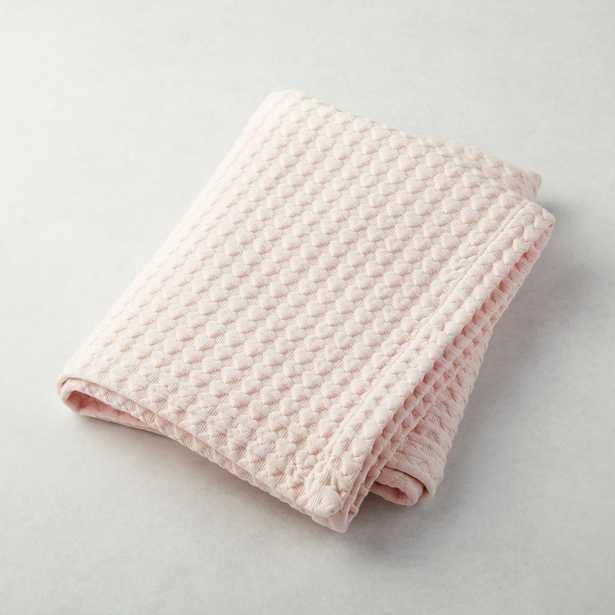 Pink Heart Stroller Blanket - Crate and Barrel