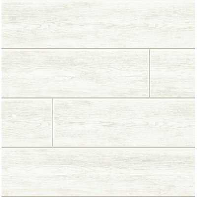 "Kelling Shiplap 18' L x 20.5"" W Peel and Stick Wallpaper Roll - Birch Lane"