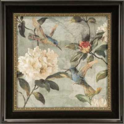 Ashton Art & Décor Birds of a Feather I Framed Painting Print - Wayfair