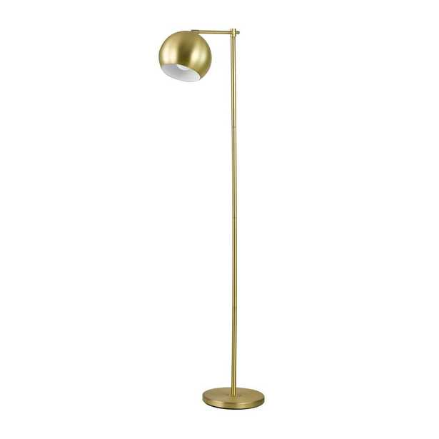 Globe Electric Molly 60 in. Gold Floor Lamp - Home Depot