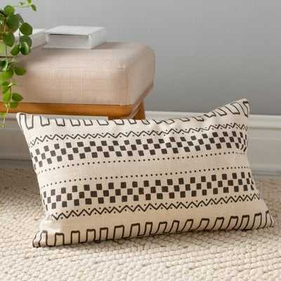 Hector Linen Lumbar Pillow - Wayfair