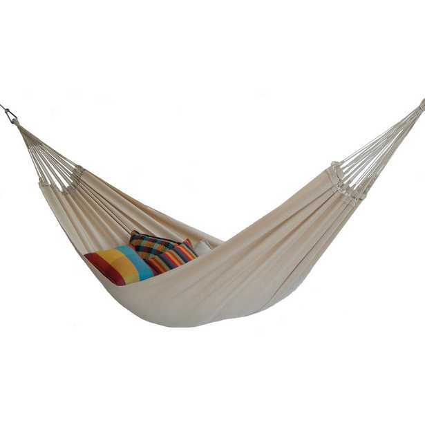Byer of Maine 12 ft. Cotton/Poly Brazilian Hammock, Natural - Home Depot