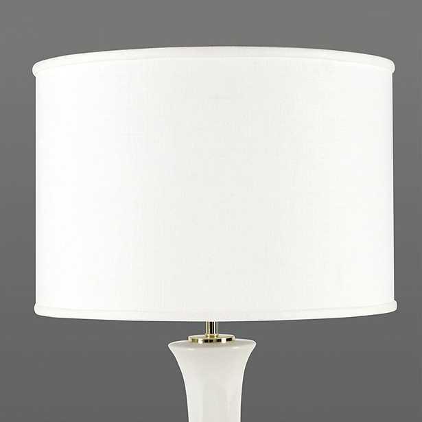 "Couture Drum Lamp Shade White 14"" - Ballard Designs - Ballard Designs"