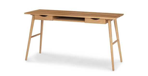 Culla Oak Desk - Article
