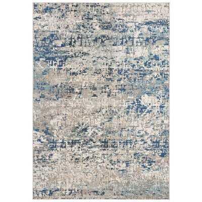 Grieve Gray/Blue Area Rug - Wayfair