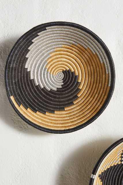 Metallico Hanging Basket - Anthropologie