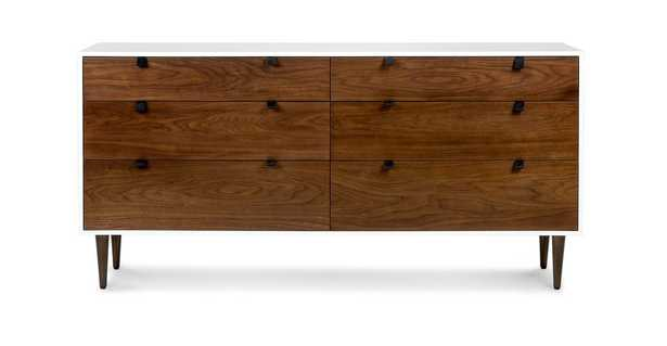 Envelo 6 Drawer Double Dresser - Article