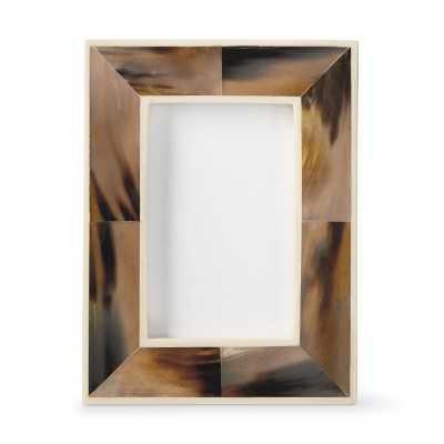 "Horn And Bone Frame, 4"" X 6"" - Williams Sonoma"
