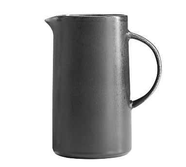 Mason Pitcher- Charcoal - Pottery Barn