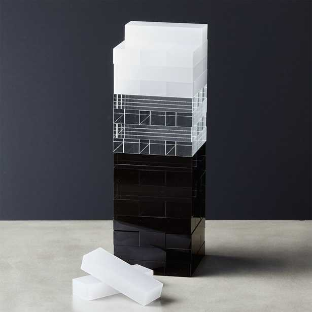 Acrylic Tumbling Tower - CB2