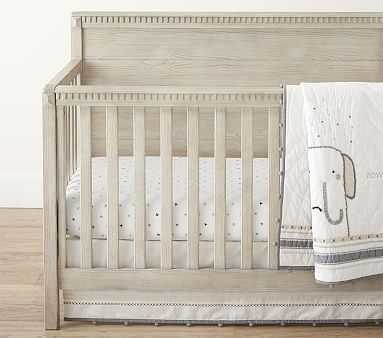 Rowan Quilt Set with Stitch Crib Fitted Sheet - Pottery Barn Kids