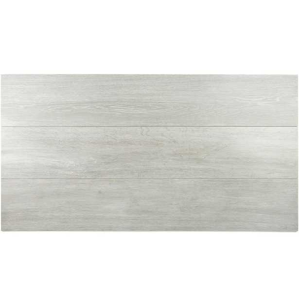 Ivy Hill Tile Helena Silver 8 in. x 45 in. 10mm Natural Wood Look Porcelain Floor and Wall Tile (5 pieces / 12.26 sq. ft. / box) - Home Depot