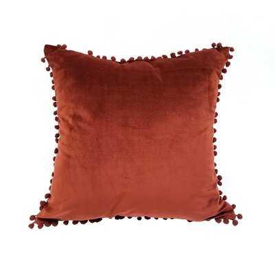 Peasely Pompom Throw Pillow - Wayfair
