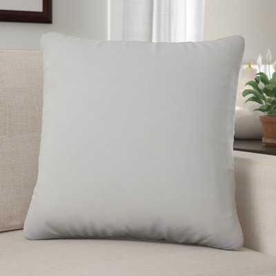 Aguon Solid Microfiber Pillow Insert - Wayfair