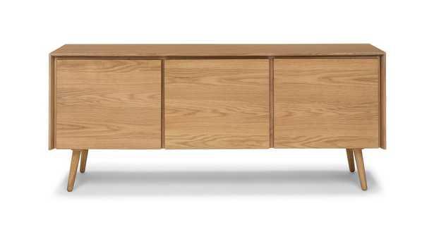 """Seno Sideboard, Oak, 71"""" - Article"""