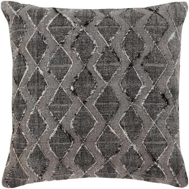 Kalyan Poly Euro Pillow, Black - Home Depot