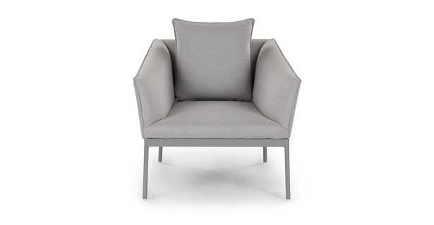 Palo Paloma Gray Lounge Chair - Article