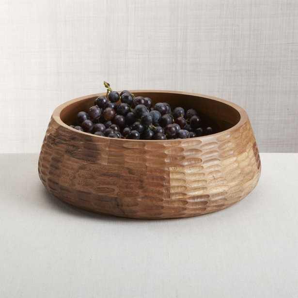 Amari Acacia Wood Bowl - Crate and Barrel