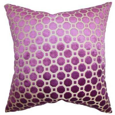 Carlie Velvet Throw Pillow - Birch Lane