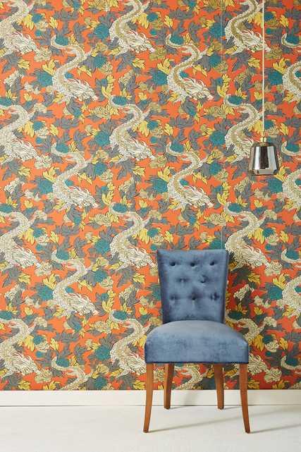 Dragon Wallpaper - Anthropologie
