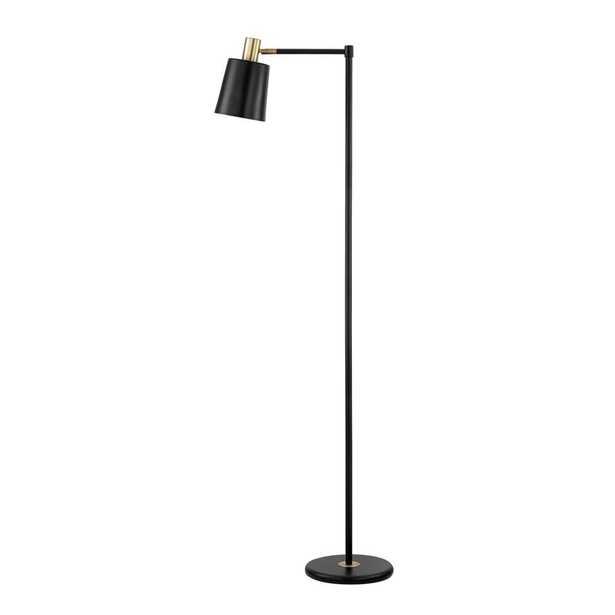 Globe Electric Lex 60 in. Black Floor Lamp - Home Depot