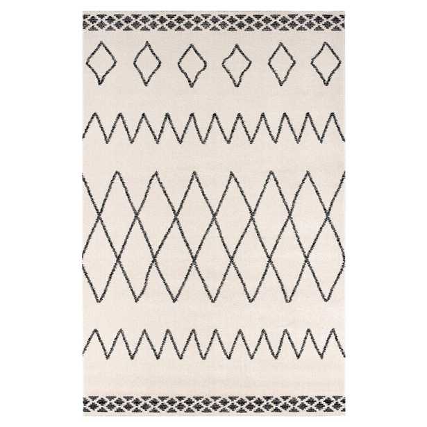 Poly and Bark Casablanca 8'x10' Area Rug in Vintage Cream - Home Depot