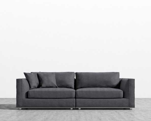 Milo Sofa - Narwhal - Rove Concepts
