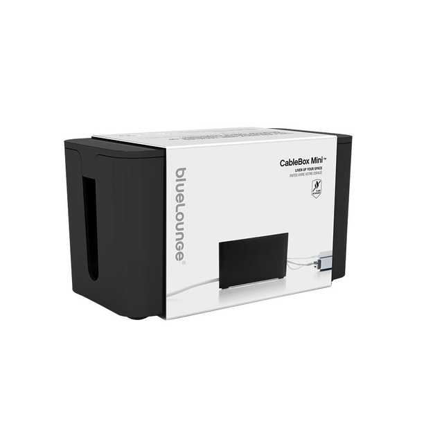 CableBox Mini with Surge Protector, Black - Home Depot
