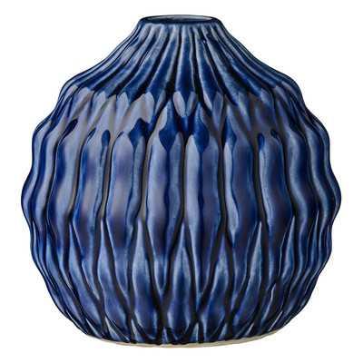 Bretagne Round Ceramic Table Vase - Wayfair